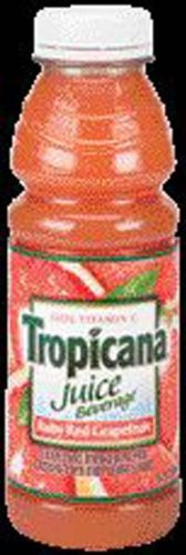 Tropicana Ruby Red Grapefruit Juice 15.2 oz - 12 Pack