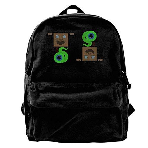 Yuanmeiju Zaino in tela Jackseptic-eye Funny Eyes Zaino Palestra Escursionismo Borsa a tracolla per laptop Daypack per uomo Donna