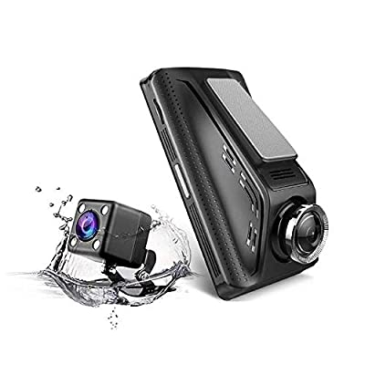 CHEZAI Dashcam Car Camera, 3.5 Inch IPS Touch Screen 170 Degrees Wide Angle Full HD Video Car DVR, Support TF Card(32GB Max) / G-Sensor from SPRIS