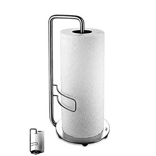 ZACK 20702 Adeo Küchenpapierhalter, Edelstahl matt