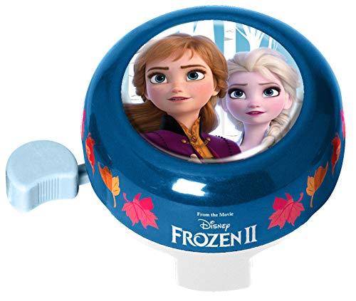 Stamp- Bell Frozen II Anna, Elsa, Color Azul, (RN244084)