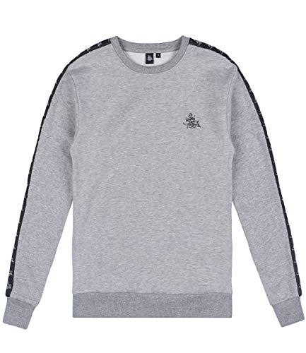 257ers Sweater Stripes, Farbe:grau, Größe:XL