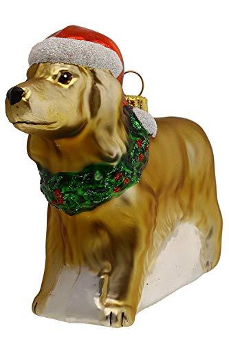 Hamburger Weihnachtskontor - Christbaumschmuck - Golden Retriever