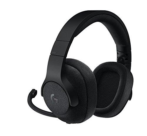 Logitech G433 Cuffia con Microfono rimovibile per Giochi Cablata, Audio Surround 7.1, per Pc, Xbox One, PS4, Switch, Dispositivi...