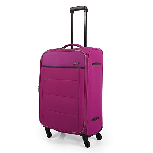JASLEN - 76360 TROLLEY MEDIANO EXPANDIBLE, Color Fucsia