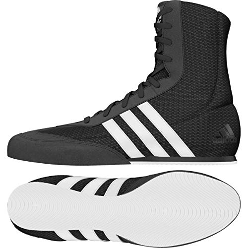 Adidas Boxschuh Box Hog 2, Uni Boxschuhe, Schwarz, 39 1/3 EU (6 UK)
