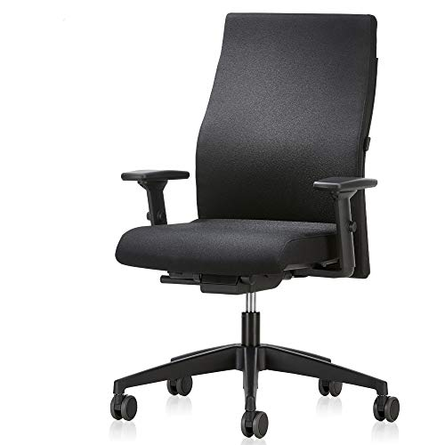 Interstuhl Bürostuhl 139RS – Bürodrehstuhl Made in Germany für das Büro/Zimmer/Wohnung/Schreibtischstuhl mit Perfekter Ergonomie für langes Sitzen
