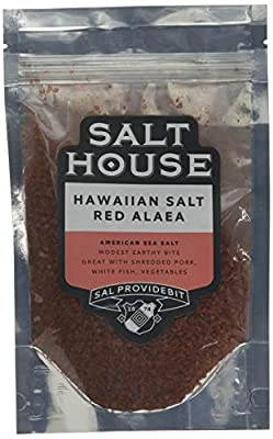 Pacifica Hawaii Hawaiian Red Alaea Sea Salt in Pouch 200 g Parent