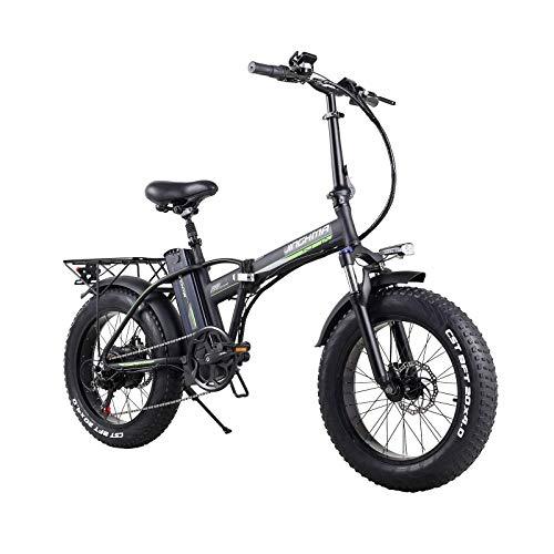 SONGZO Bicicletta Pieghevole Elettrica da 20 Pollici da 500 W con Batteria al Litio Rimovibile da 48 V 15 Ah e Display LCD