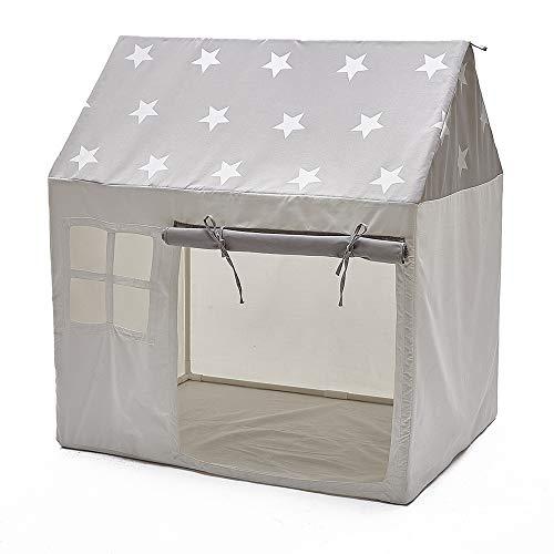 子供テント-折り畳み式テント純粋な綿のキャンバスポータブル玩具収納秘密基地プレゼント室内テント室外テントプレゼント