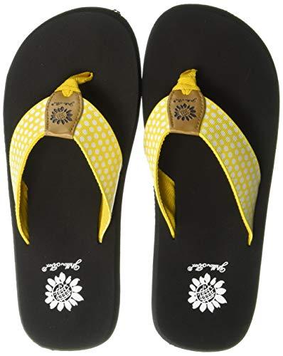 Yellow Box Women's Fromy Sandal, Yellow, 10 M US