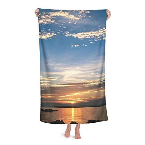 Sunsets s Descargar Espiritual Sunset s Fotos Toalla de playa de microfibra Toalla de piscina de secado rápido 130x80 cm toalla de viaje de gran tamaño