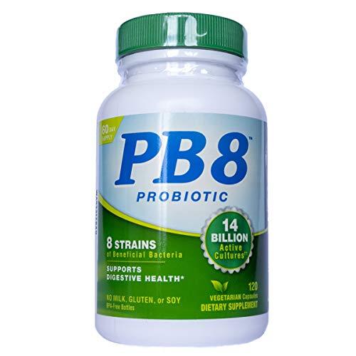 PB8 Probiotico VEGANO 14 bilhoes 120 Capsulas - Nutrition Now