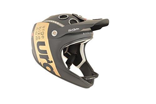 Urge Archi-Enduro MTB casco Integrale fascetta nero oro opaco L/XL 2015