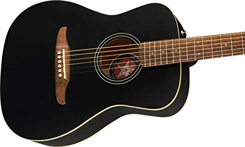 Fender 6 String Acoustic-Electric Guitar, Right, Black Matte (0971722106)