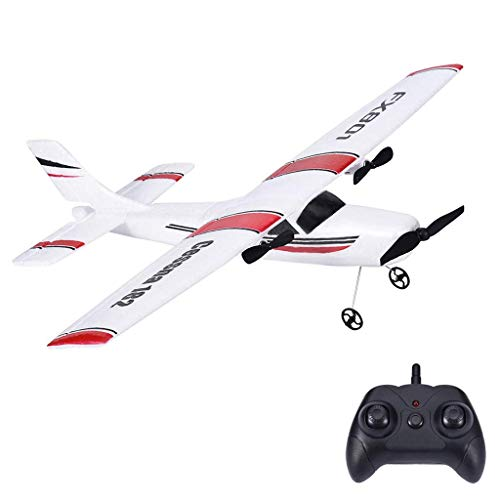 Remote Control Airplane, 2.4Ghz 2 Channel RC Plane Ready to Fly,DIY RC Airplane Toy Durable EPP Foam...