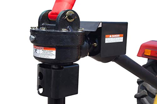 Tool Tuff 45 hp Post Hole Digger Gearbox - Direct Replacement Pole-Star 650, AgKNX Model 650, SpeeCo Model 65, CountyLine, Many Other Brands