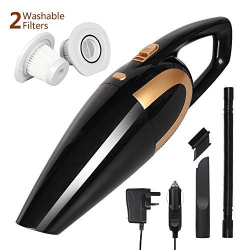 AivaToba Portable Cordless Handheld Vacuums [ 35 Mins ] Car Vacuum Cleaner...