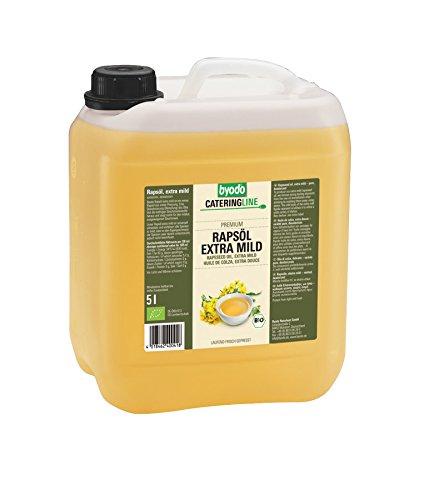 Byodo - Aceite de colza, extrasuave, 1 unidad (5 l) - orgánico