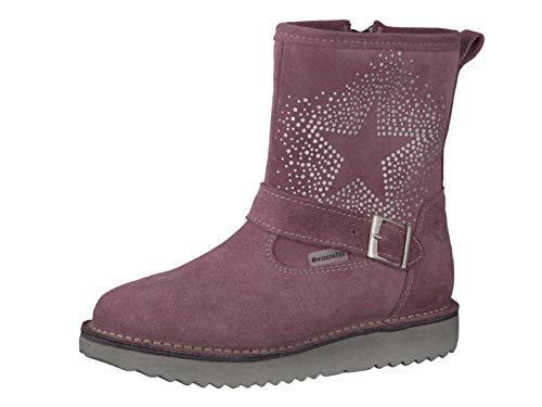 RICOSTA Fille Bottes & Boots Cosma, Bottes d'hiver pour Enfants, Chaussures d'extérieur,doublées,imperméables,Sucre,28 EU / 10 UK
