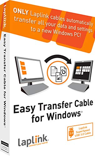 Laplink Easy Transfer Cable für Windows - USB 3.0