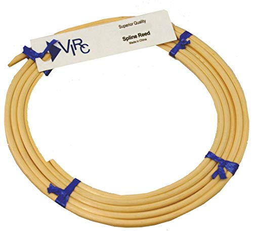 """#9 Spline for 1/4"""" Groove Chair Caning - 6ft Coil"""
