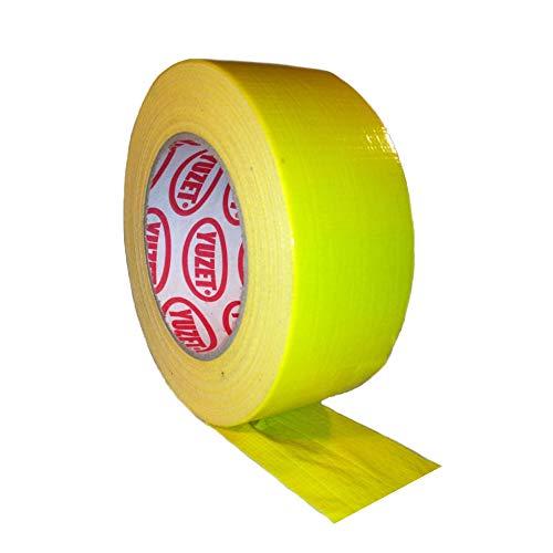 Gaffa Gaffer Tape Gewebe wasserdicht 48mm x 50m gelb