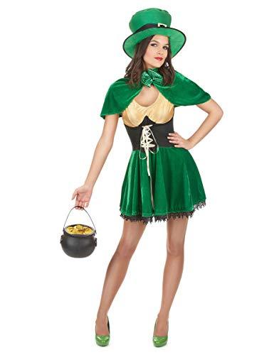 DEGUISE TOI Déguisement Leprechaun St Patrick Femme - Small