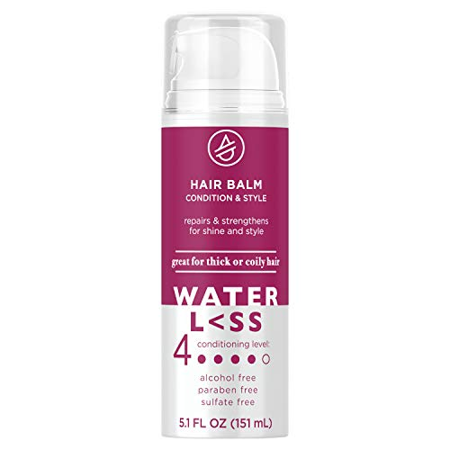 Waterless Hair Balm, Condition and Style Thick or Coily Hair, Free of Parabens, Sulfate and Alcohol, 5.1 Fl Oz