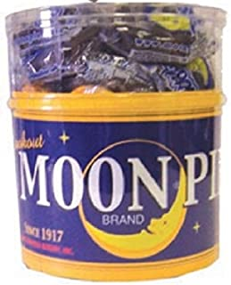 Original Mini MoonPie 18-Count Tub - Variety of flavors available!! (Chocolate)