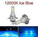 Luces led para Autos Coche LED Bombillas de Faros H11 9006 HB4 9005 HB3 H4 H7 H8 H9 H1 80W 12000LM Mini Kit de Faros LED Turbo Bulb Fog Light Luces led para Coches