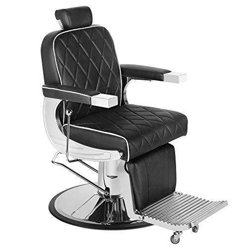 Artist Hand All Purpose Barber Chair Wide Backrest Reclining Salon Chair for Hair Stylist Tattoo Chair Makeup Chair for Salon Equipment