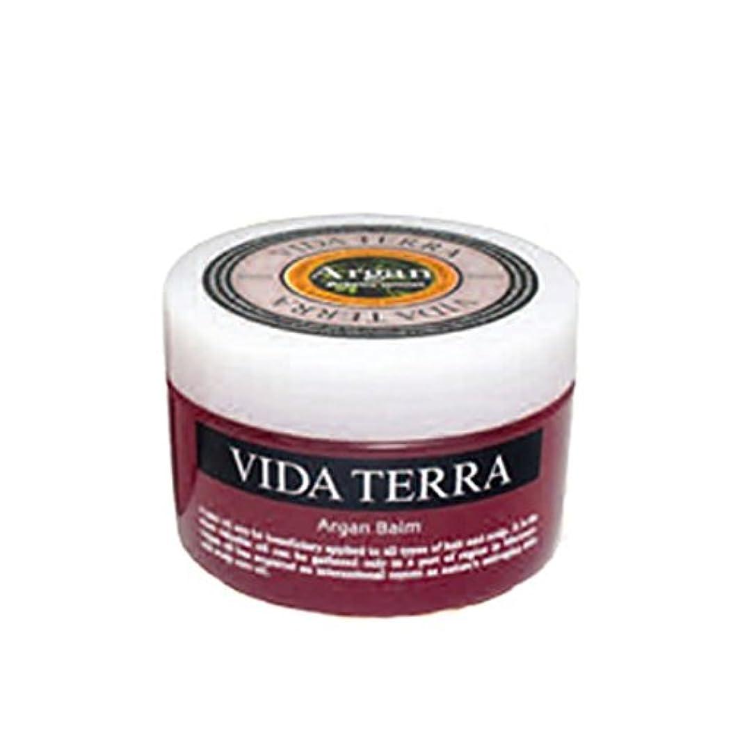 振幅用量香ばしいヴィーダテラ アルガン バーム 38g