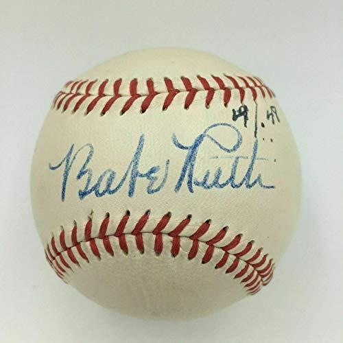 Babe Ruth Single Signed American League Baseball