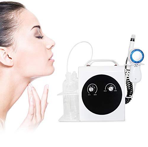 Nlight Máquina para El Cuidado De La Cara Máquina Facial Oxígeno,Máquina De Belleza para Dermoabrasión Oxígeno para Limpieza Profunda, Rejuvenecimiento De La Piel