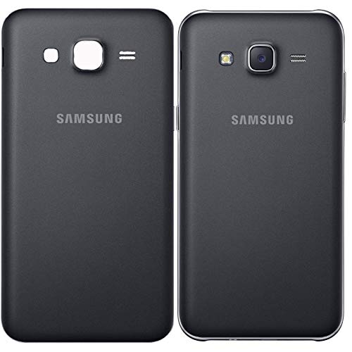 Backer The Brand Replacement Housing Back Body Panel for Samsung Galaxy J7 Model SM-J700F, SM-J700H, SM-J700M, SM-J700T, J7, SM-J700T1, SM-J700K, SM-J700P, SM-j7008 - Black