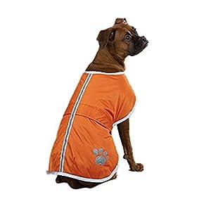 ohf Manteau imperméable pour chien étanche couette rigides Poncho souple Cozy Gaine