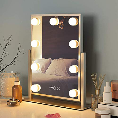 FENCHILIN『LIGHTED VANITY 9 LED MAKEUP MIRROR(S-2)』
