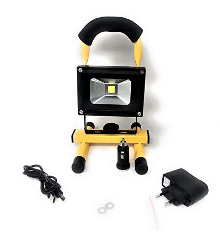 FARO led ricaricabile portatile 10W con batteria integrata a litio luce bianca