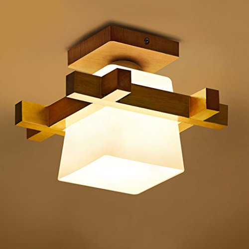 Fu Man Li Trading Company Garderobe Deckenleuchten Chinesische Stil Korridor Korridor Kreative Massivholz Lampen A+