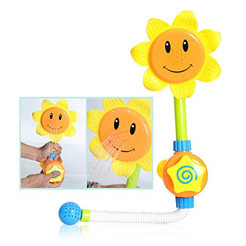 Da.Wa - Espray de ducha girasol, juguetes para baño de bebé