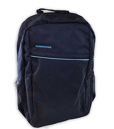 Kingsons Sparton Laptop Rucksack Backpack 15.4 Inch Notebooks Black