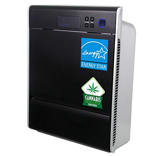 Asept-Air LIFE CELL 2550 5-Stage Ultimate HEPA & CARBON Air Purifier with Washable Prefilter, a dedicated 2-stage 99.97% HEPA filter and a dedicated 2-stage granular ACTIVATED CARBON (2 lbs) filter for larger spaces up to 2,500ft2