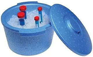 Argos Technologies PolarSafe Ice Bucket with Lid, 5 L, Polystyrene, Blue; Each