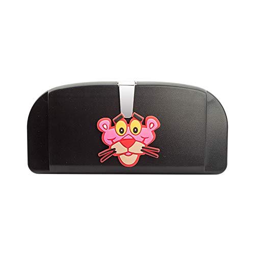 RAP Auto accessoires Algemene auto glazen doos Auto accessoires Zonnekap opslag Zonnebril bril clip Niet-destructieve installatie Zwarte bril case