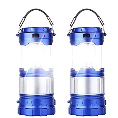 2 Pack Outdoor Camping Lamp