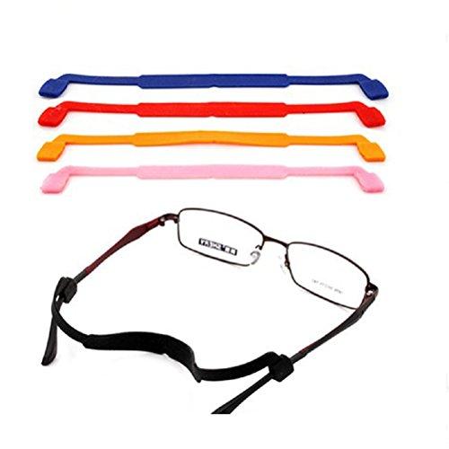ROSENICE Rosenice Brillenband, rutschfeste Halterung, Silikon, in 5Farben