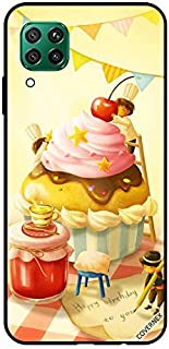 Protective Case Cover For Huawei P40 Lite Birthday Cup Cake Art