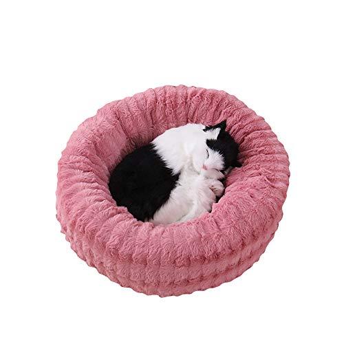 Cesta de Mascotas casa de Perro Cama de Gato Cama de Perro - Hecho de Tela de Felpa Lavable y Resistente a los arañazos casa para Perros y Gatos (S, Style 3)