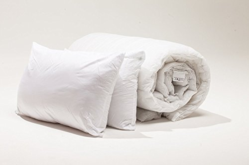 SleepyNights UNBEATABLE VALUE NON ALLERGENIC POLYPROPYLENE BUNDLE - 4.5 TOG DUVET/QUILT WITH 2 PILLOWS: SINGLE